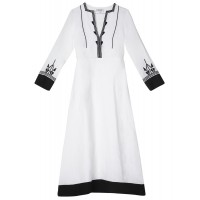 Amorgos Embroidered Dress Φορέματα