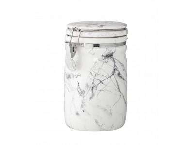 Βάζο Αποθήκευσης Μαρμάρινο H17 cm Κουζίνα