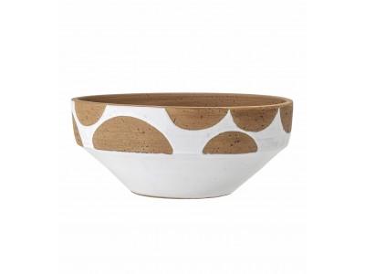 Κεραμικό Μπολ  White - Terracotta Διακοσμητικά Αξεσουάρ