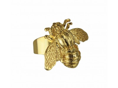 Bee Gold Plated Ring Κοσμήματα