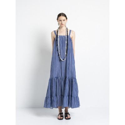 Cycladic Land Maxi Dress