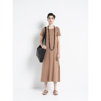Vital - Midi Dress Vivid Clay Φορέματα