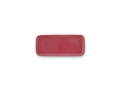 Πορσελάνινος Δίσκος Αστέρια Ροζ 27x12x1.5 Μπάνιο