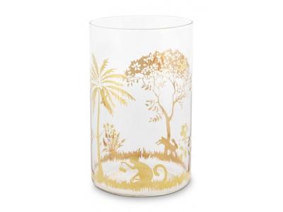 Γυάλινο Ποτήρι La Majorelle Gold 360ml Υαλικά