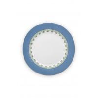 Πορσελάνινο Πιάτο La Majorelle Μπλε 26.5cm Σερβίτσια