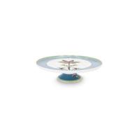 Πορσελάνινος Δίσκος Για Κέικ La Majorelle Μπλε 30.5cm Σερβίτσια
