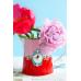 Πορσελάνινη Κανάτα Love Birds Κόκκινη-Ροζ 270ml Σερβίτσια