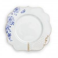 Πορσελάνινο Πιάτο Royal White 23.5cm Σερβίτσια