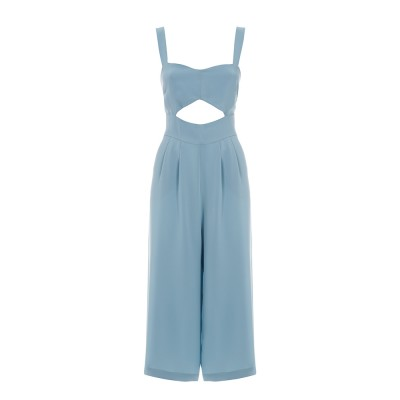 Jumpsuit With A Cut-Out Detail Baby Blue