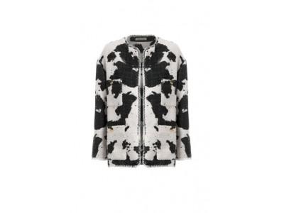Printed Tweed Jacket Πανωφόρια