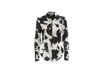 Printed Glossy Shirt Cow Πουκάμισα