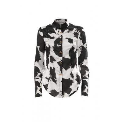 Printed Glossy Shirt Cow