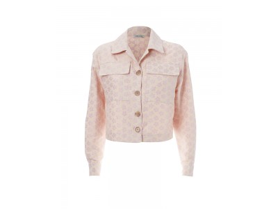Daisy Jacket Pink And White Floral Πανωφόρια