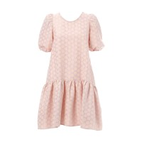 Daisy Dress Pink And White Floral Φορέματα