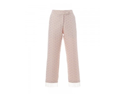 Daisy Pants Pink And White Floral Παντελόνια/Σορτς
