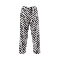 Daisy Pants Black And White Floral Παντελόνια/Σορτς
