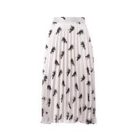 Printed Pleated Skirt Canis Major Φούστες