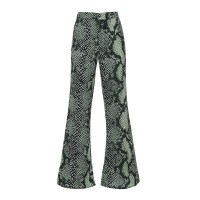 Printed Flare Trousers Παντελόνια/Σορτς