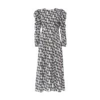 Printed Maxi Dress Milkwhite Φορέματα