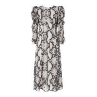 Printed Maxi Dress Snake Φορέματα