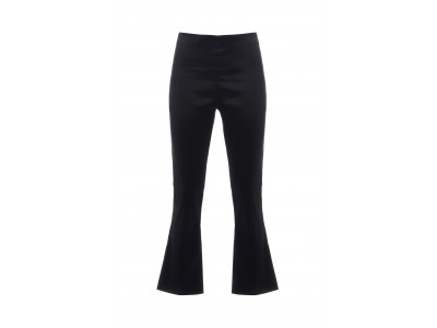 Cropped Pants Black Παντελόνια/Σορτς
