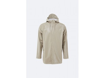 Short Coat Shiny Beige Πανωφόρια