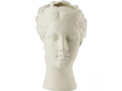Hygeia Head Vase Ice White Statues